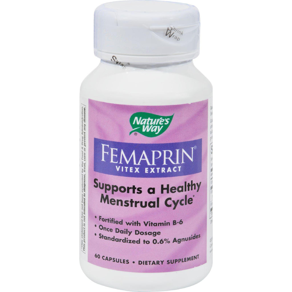 Nature's Way Femaprin Vitex Extract - 60 Caps