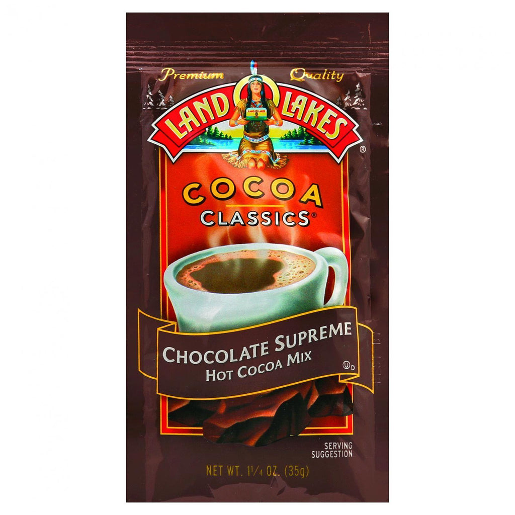 Land O Lakes Cocoa Classic Mix - Hot Cocoa - 1.25 Oz - Case Of 12
