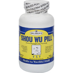 Dr. Shen's Shou Wu Youthful Hair Pill - 700 Mg - 200 Tablets