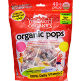 Yummy Earth Organics Lollipops - Organic Pops - 40 Plus - Assorted - 8.5 Oz - Case Of 12