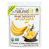 Natierra Freeze Dried Bananas - Dark Chocolate - Case Of 12 - 4 Oz.