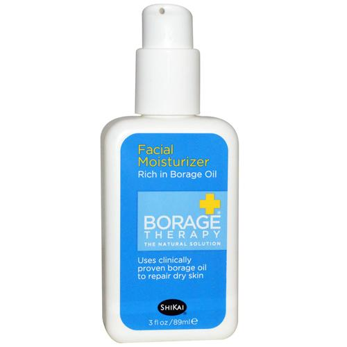 Shikai Products Borage Dry Skin Therapy Facial 24 Hour Repair Cream - 2 Fl Oz