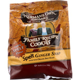 Newmans Own Organics Cookie - Organic - Spelt Ginger Snap - 6.5 Oz - Case Of 6
