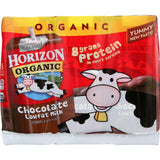 Horizon Organic Dairy Milk - Organic - 1 Percent - Lowfat - Box - Chocolate - 6-8 Oz - Case Of 3