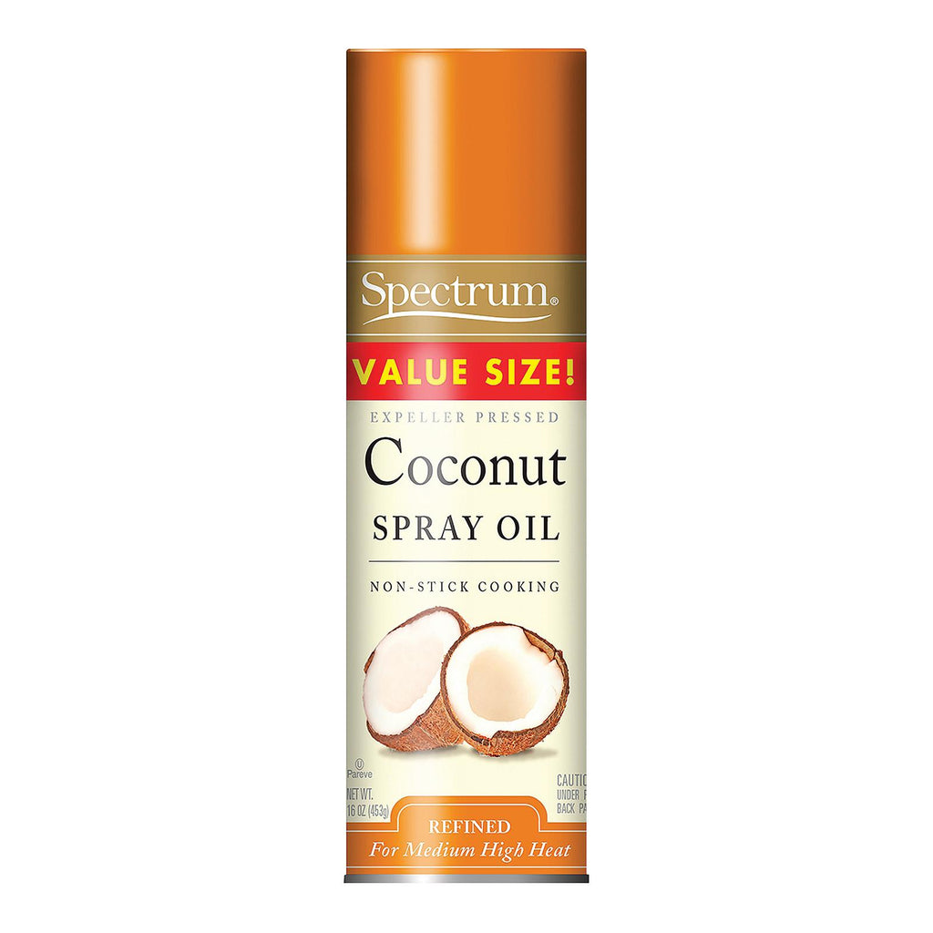 Spectrum Naturals Coconut Spray Oil - Case Of 6 - 16 Oz.