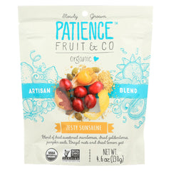 Patience Fruit And Co Organic Dried Cranberries - Zest Sun - Case Of 8 - 4.6