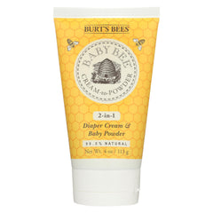 Burts Bees Cream To Powder - 4 Oz