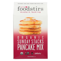 Foodstirs Pnck Mix - Organic - Sunday Stcks - Case Of 6 - 20 Oz