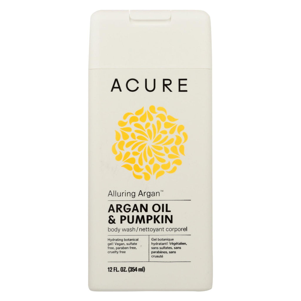 Acure Body Wash - Alluring Argan - 12 Fl Oz
