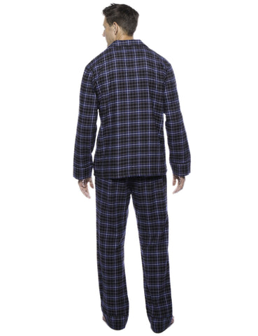 Plaid Navy/Black