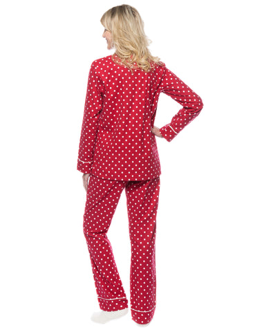 Dots Diva Red-White