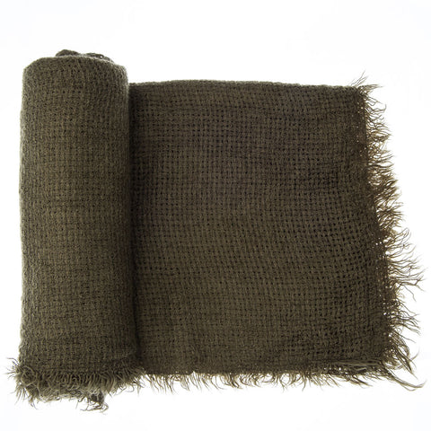 'Toasty' Warm Soft Premium Winter Scarf - Olive