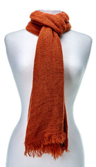 'Toasty' Warm Soft Premium Winter Scarf - Orange
