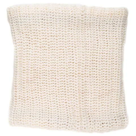 Women's Fleece-Lined Urban Snood Scarf - Ivory