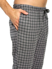 Checks - Charcoal Black
