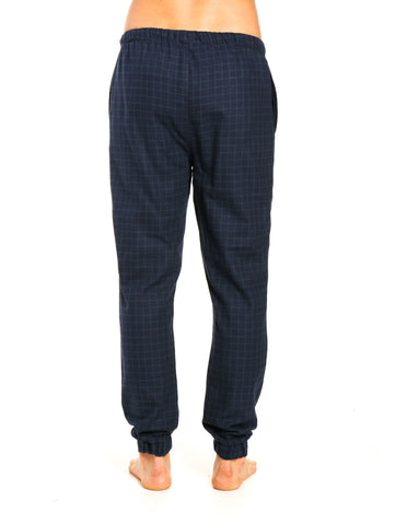 Windowpane Checks - Navy Green