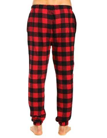Gingham Checks - Black-Red