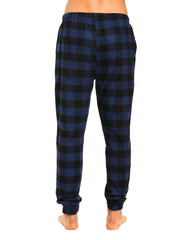 Gingham Checks - Black-Blue
