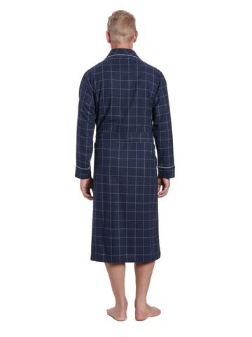 Windowpane Checks - Navy