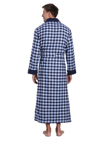 Gingham Checks - Charcoal-Navy