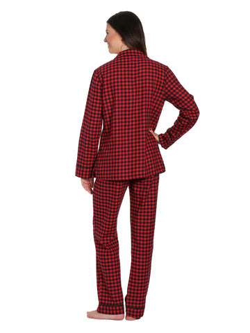 Gingham Red-Black