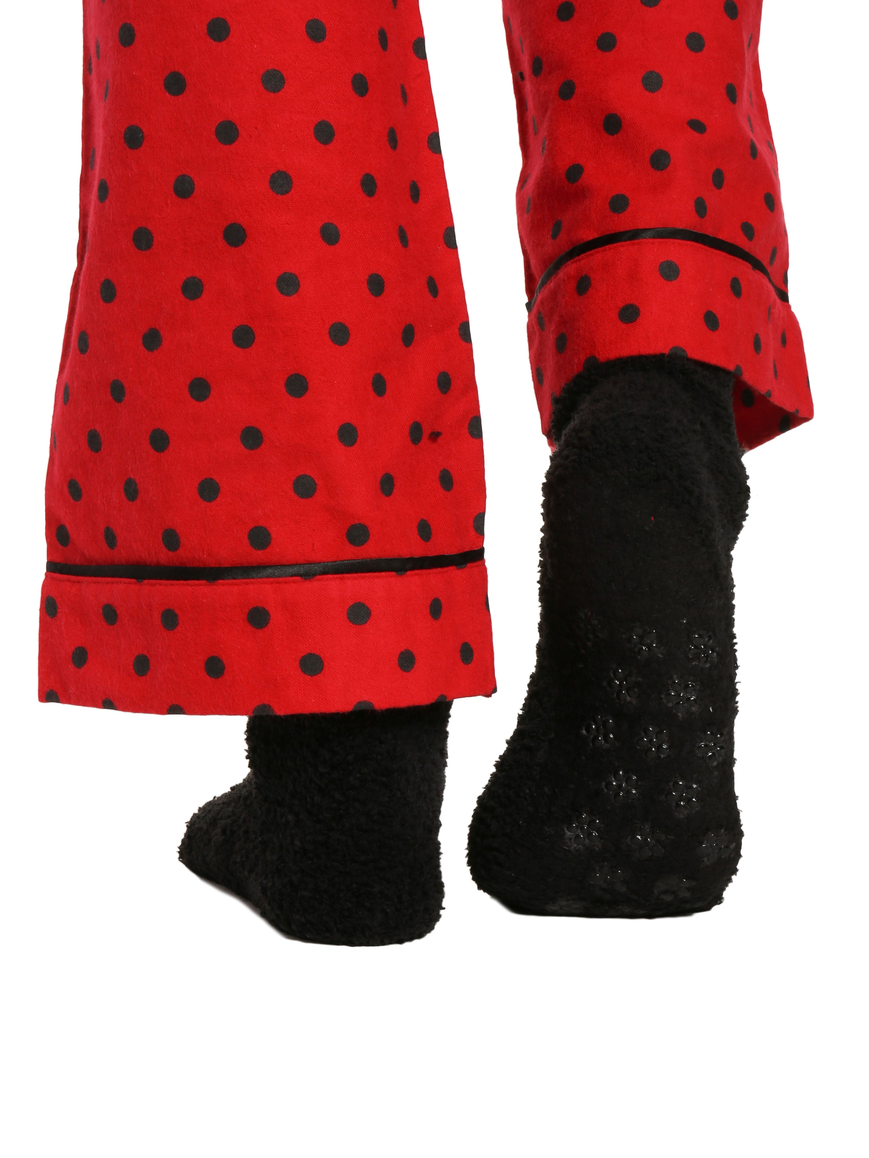 Dots Diva Red-Black