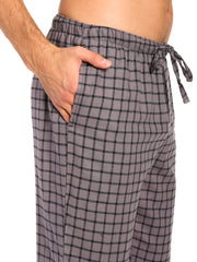 Checks Charcoal-Black