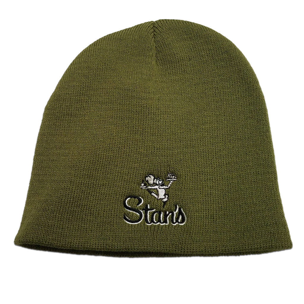 Men's Olive Green Beanie