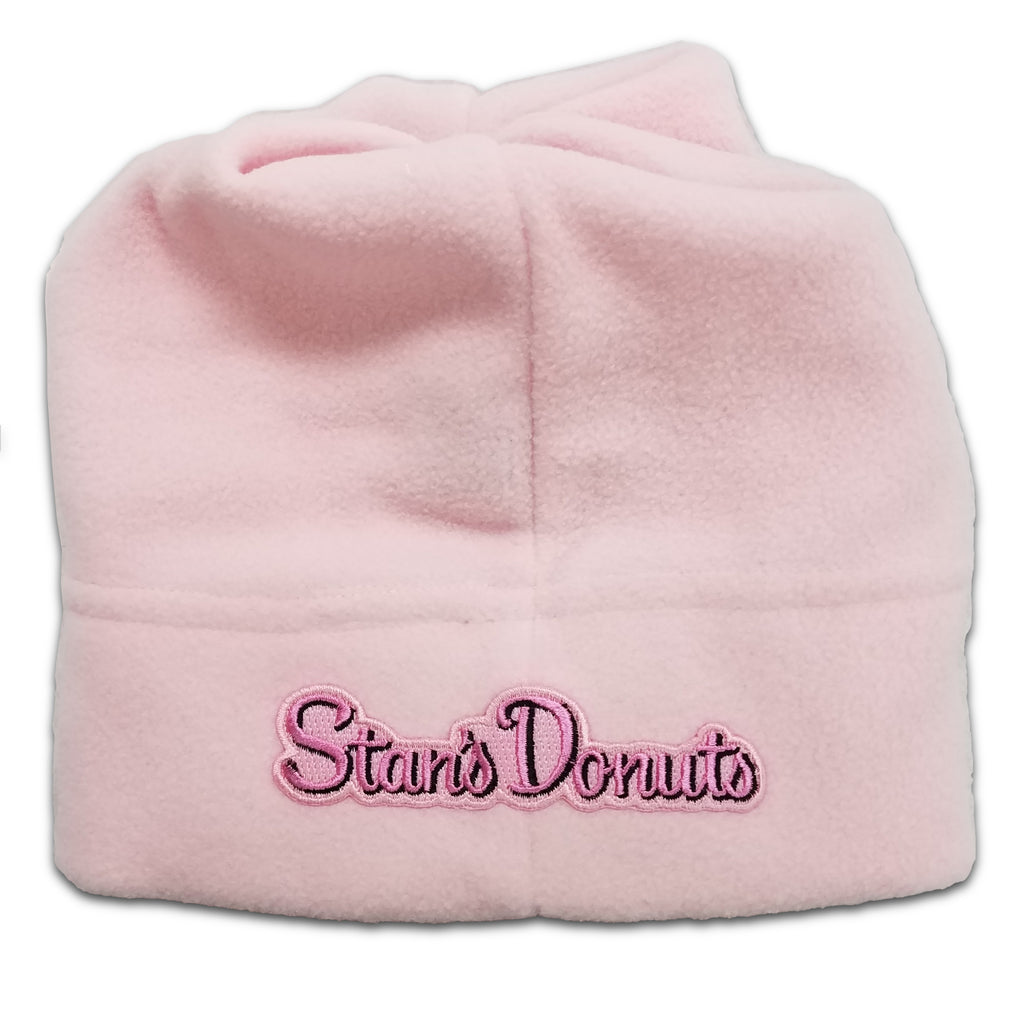 Women's Pink Fleece Beanie