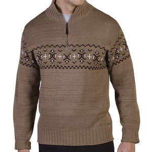 ExOfficio - Cafenisto 1/4 Zip Jacquard Sweater