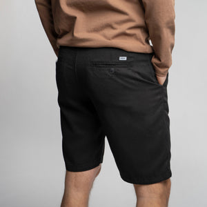 Tencel Pants - Shorts preto