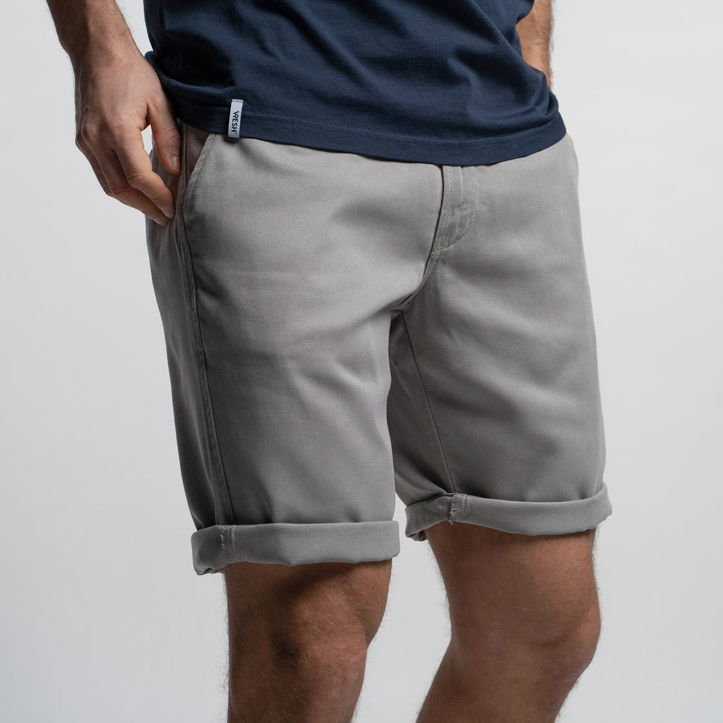Tencel Pants - Shorts cinzo