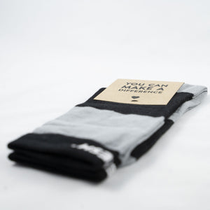 Single Socks blk/gry Blocks