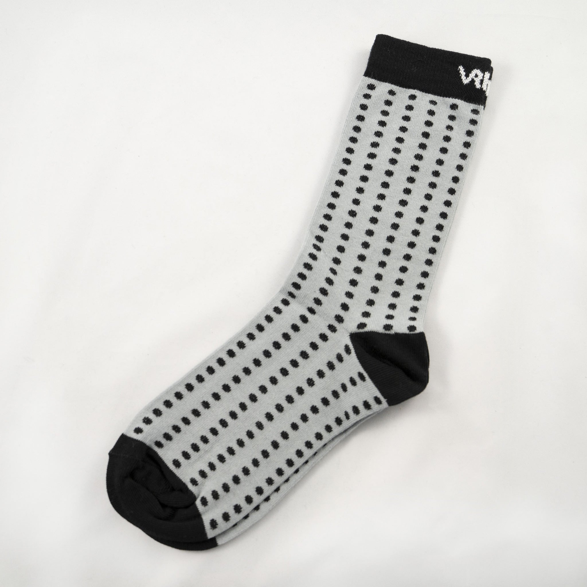 Single Socks blk/gry Dots