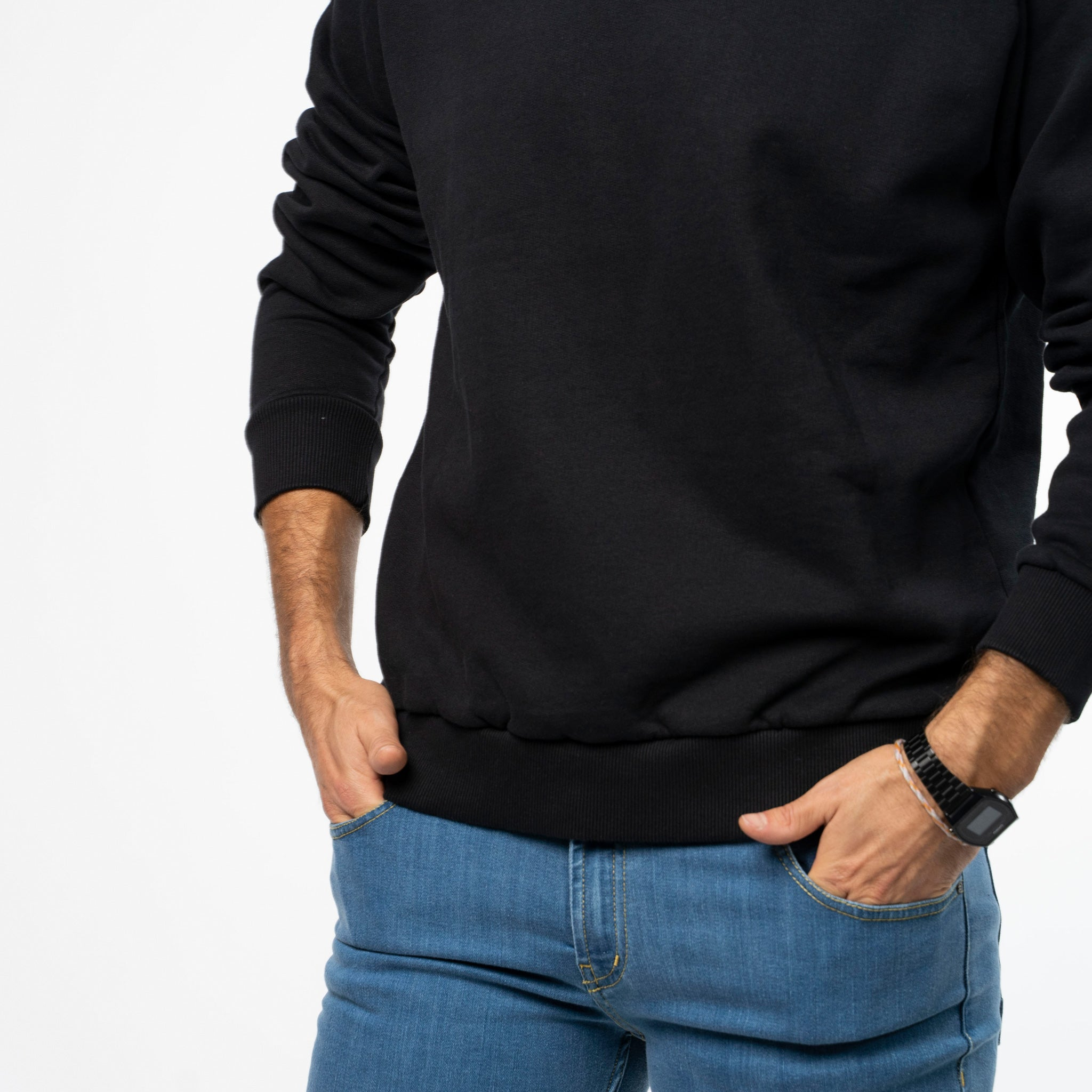 Men's Sweater - Sueter preto
