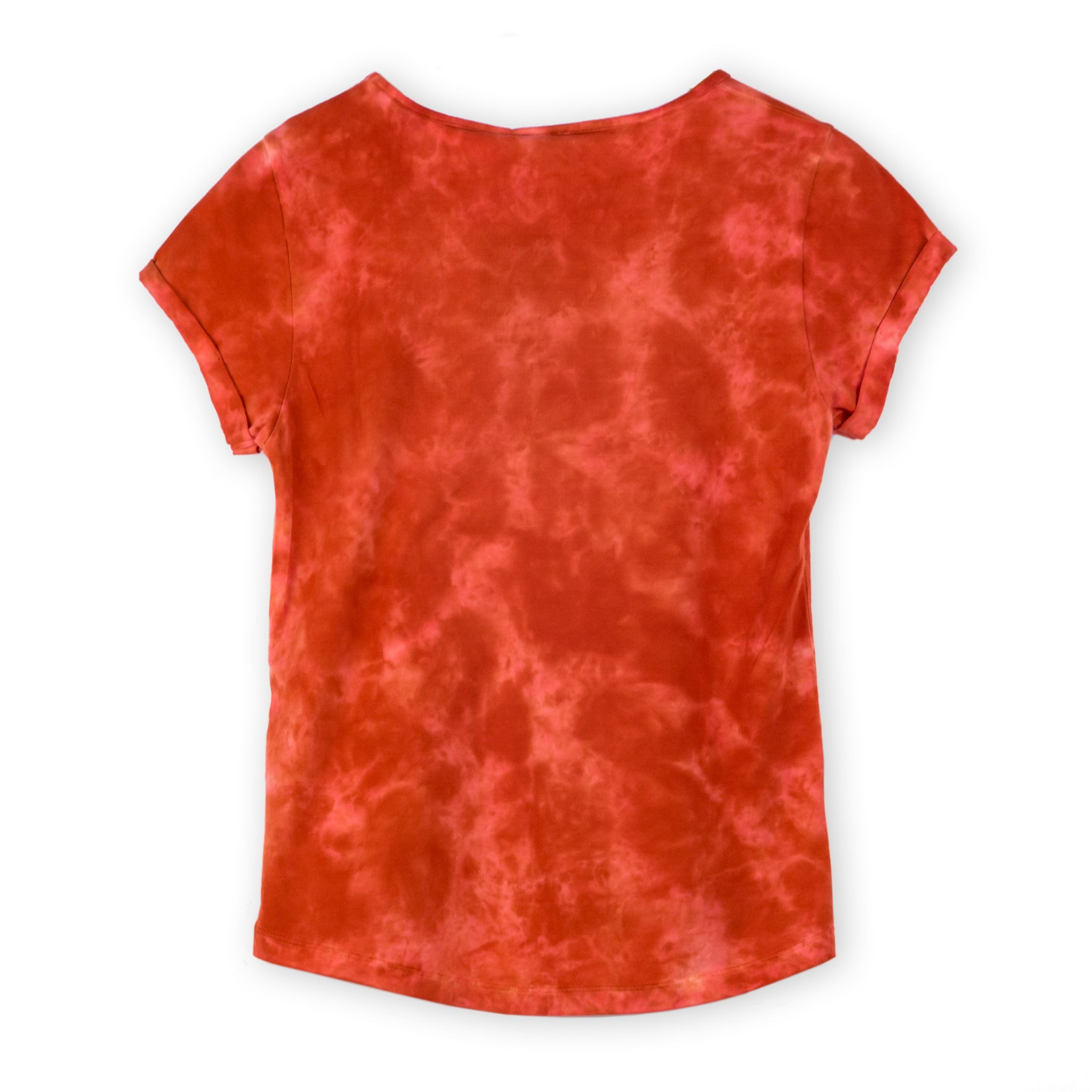 Widetop tie-dye red