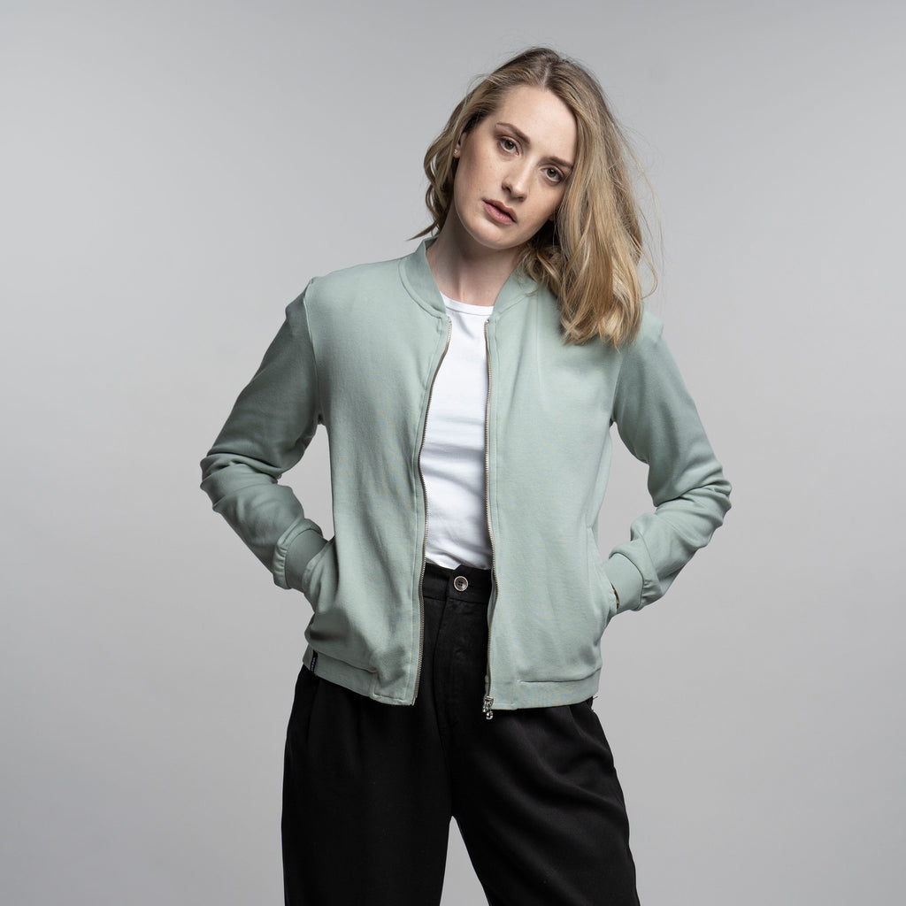 Women's Zip Jacket - Mint