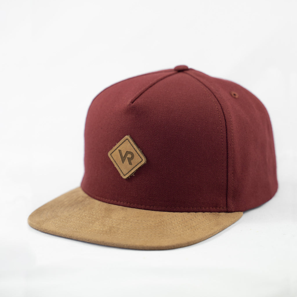 SB Cap 5P - Burgundy Patch