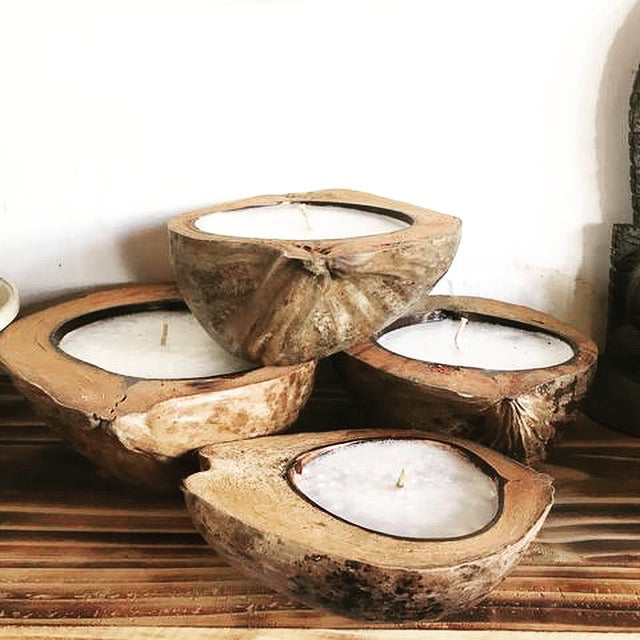 Coconut Husk Candle