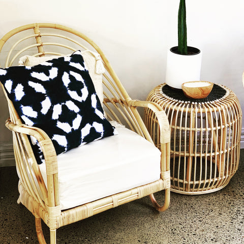 """Martini"" Rattan Occasional Chair"