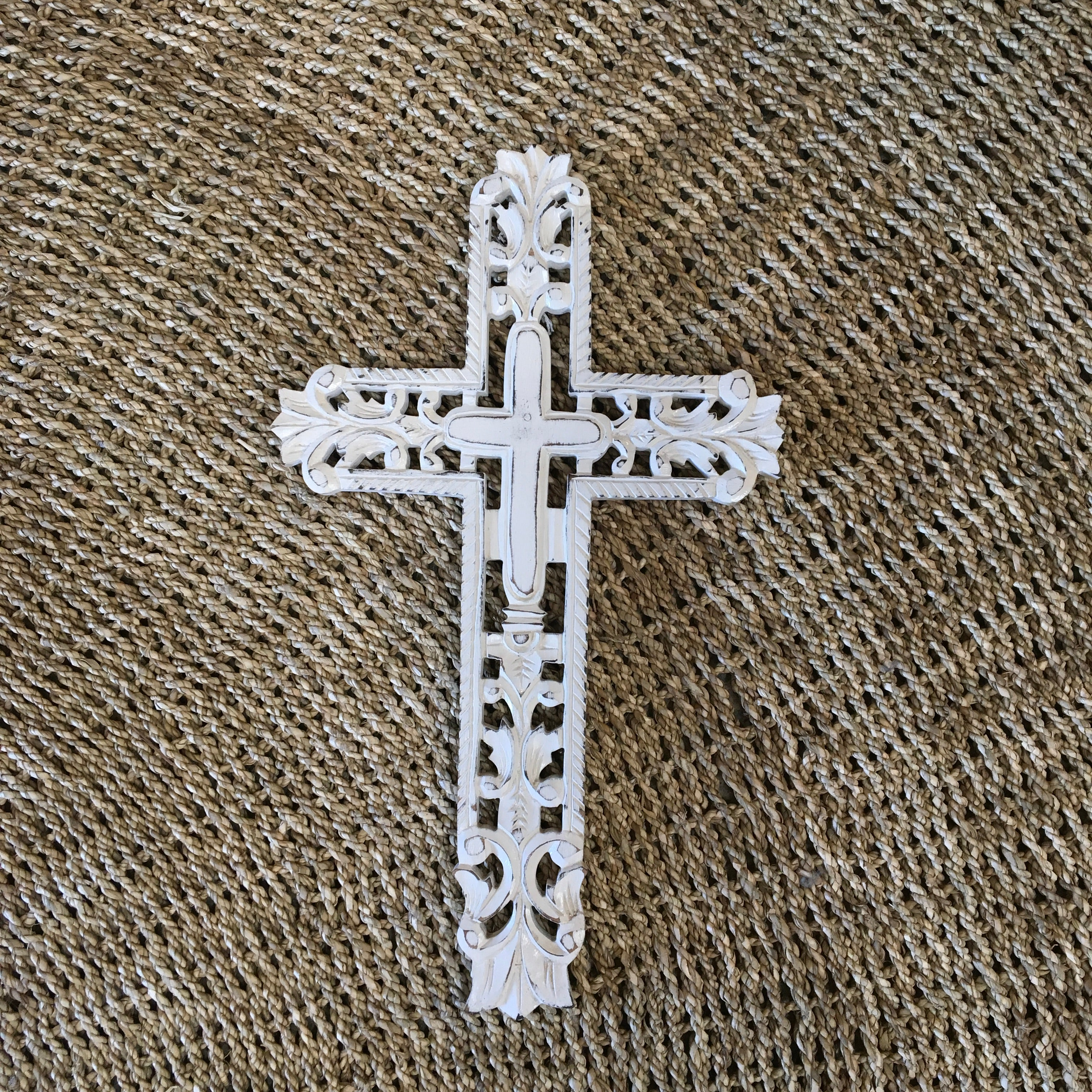 Gothic White Cross