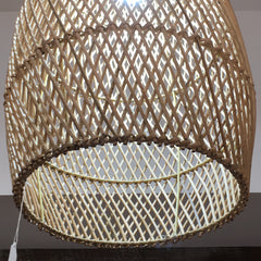 The Saint Clair Rattan Pendant - Natural