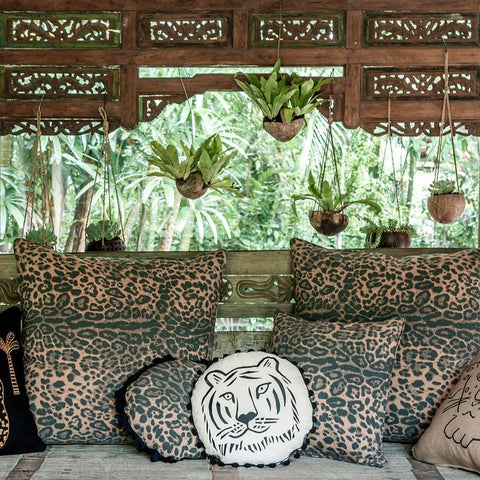 Jungle Fever Leopard Floor Cushion