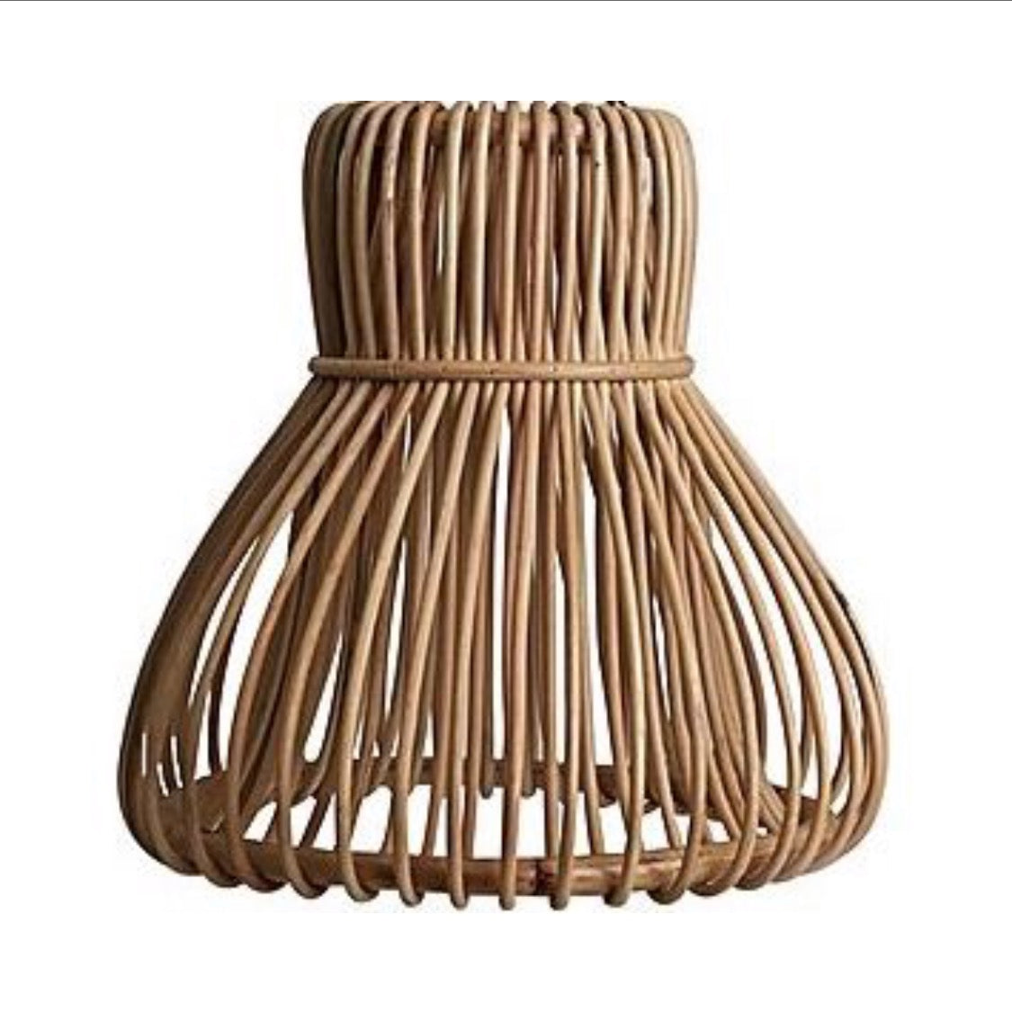 rattan wicker pendant light