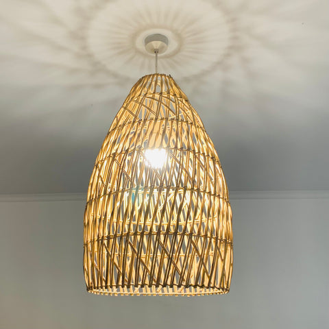 Corsair Rattan Pendant - Natural