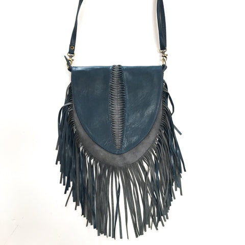 Sarina Fringe Crossbody - Tan