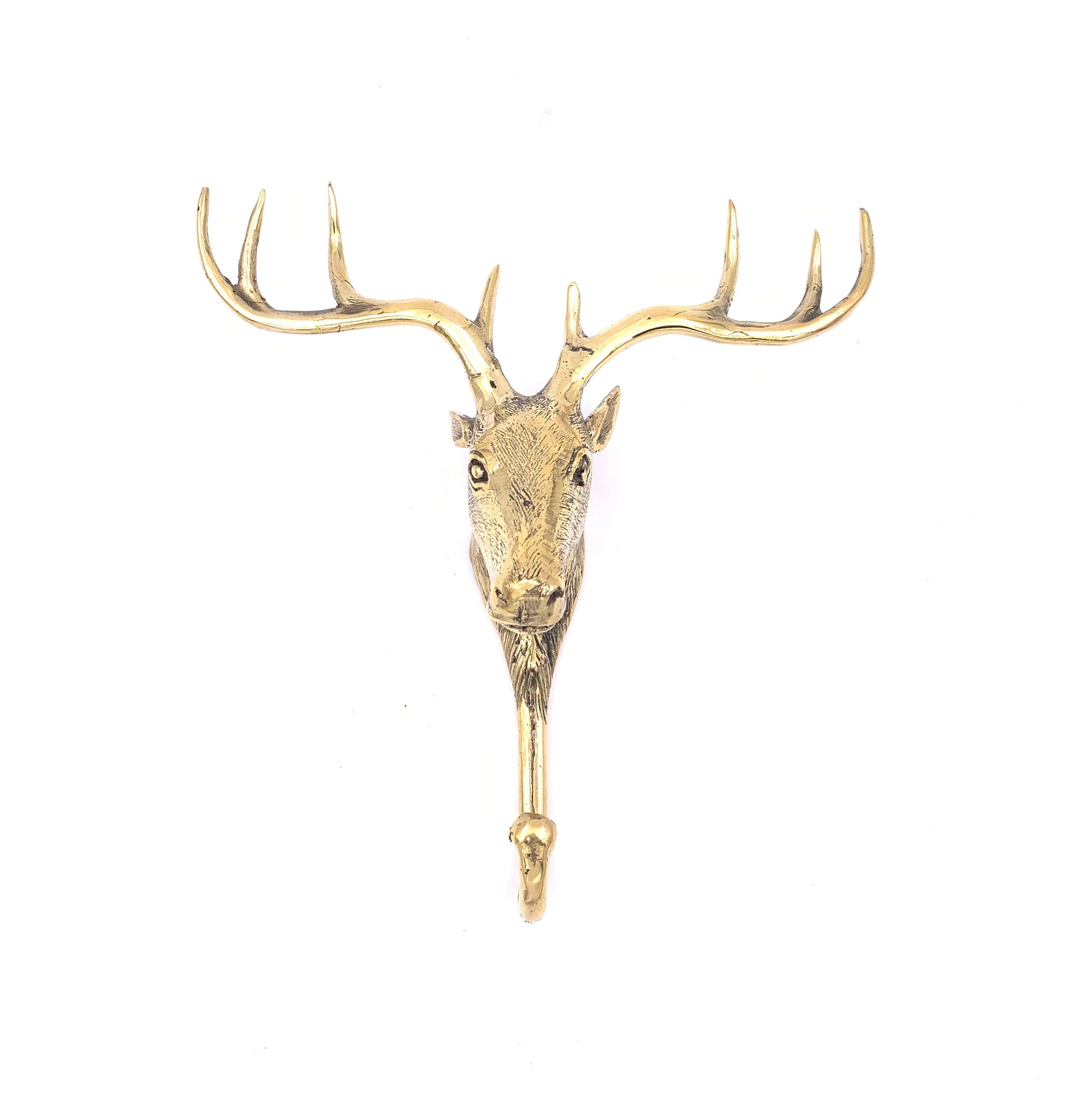 Brass Deer Hook (Hanger)