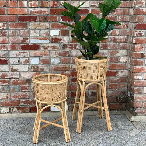 Rattan Plant Stand - Large