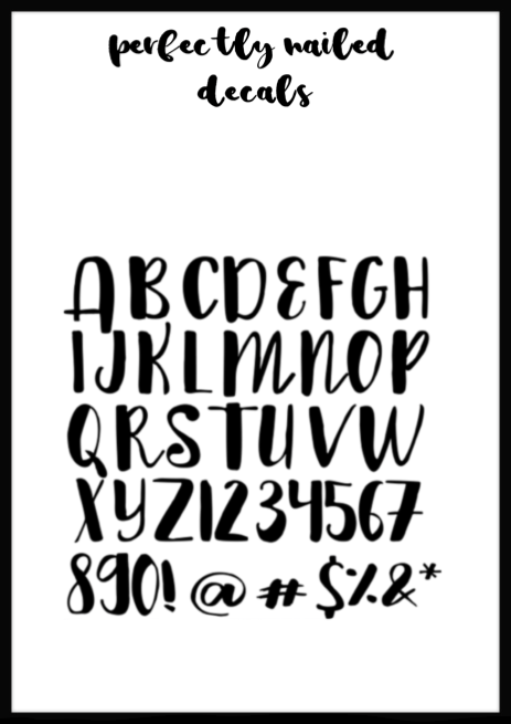 Metallic - Cute Font