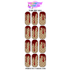 Gucci Blood Nail Decals